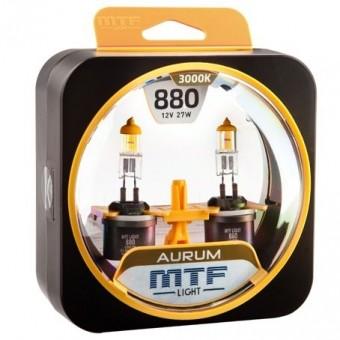 Лампы MTF Aurum H27 880 (12 V, 27 W, 2 шт)