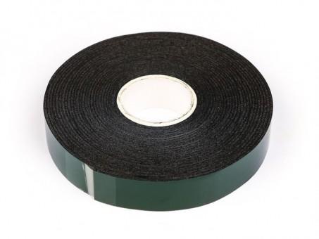 Скотч двусторонний вспененный 5 м х 15 мм (черный)