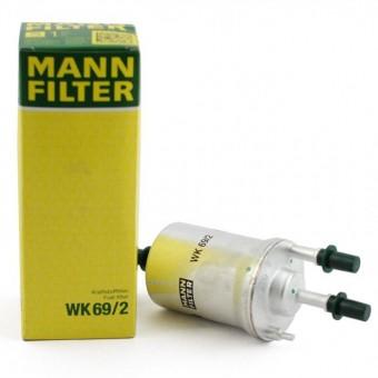 Фильтр топливный MANN-FILTER WK 69/2
