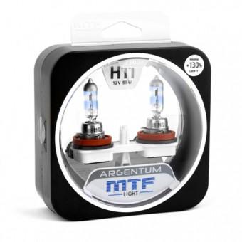 Лампы MTF Argentum +130% H11 (12 V, 55 W, 2 шт)