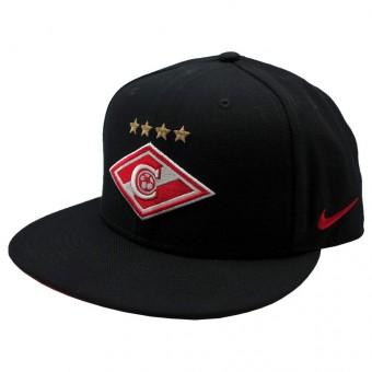 Бейсболка ФК Спартак  2015-16 Nike черная, арт.14932