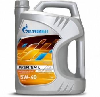 Масло моторное Gazpromneft Premium L 5W-40 (5 л)