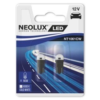 Светодиодные лампы Neolux W5W (6000К, 2 шт)