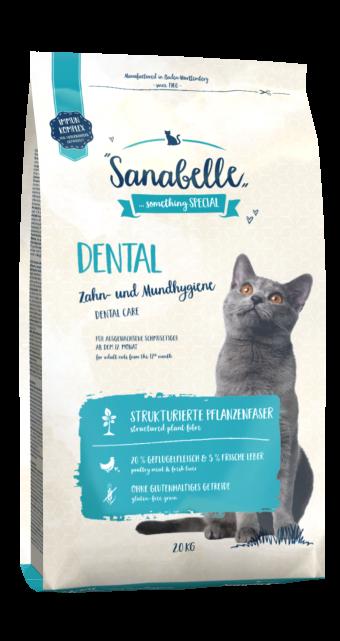 Сухой корм для кошек Sanabelle Dental NEW, 2 кг