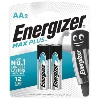 Батарейки AA (LR06) Energizer Max Plus (блистер, 2 шт)