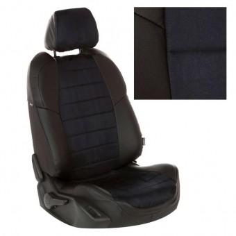 Чехлы Автопилот Лада Гранта (2011>) Luxe - черные, алькантара