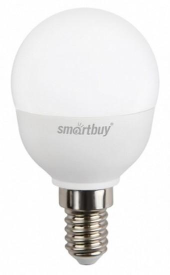 Лампа Smartbuy P45 7W 3000K E14 (500 Лм, шарик)