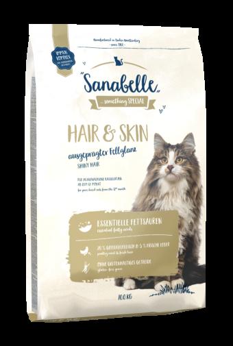 Сухой корм для кошек Sanabelle Hair&Skin, 10 кг