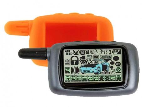 Чехол силиконовый Старлайн A8/A9 (оранжевый)