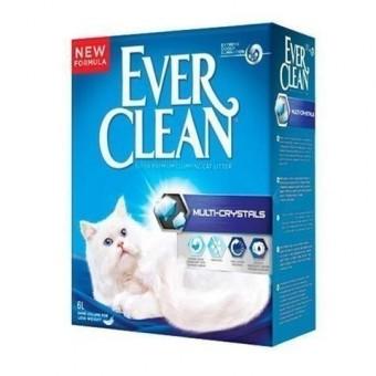 Наполнитель кошачьего туалета Ever Clean Multi Crystals (глиняный, 6,0 кг, 6 л, без запаха)