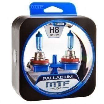 Лампы MTF Palladium H8 (12 V, 35 W, 2 шт)