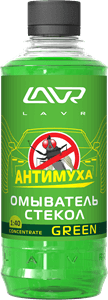 Lavr Ln1221 Омыватель стекол Антимуха Green (концентрат, 330 мл)