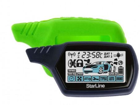 Чехол силиконовый Старлайн A91/B9 (зеленый)