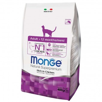 Сухой корм для кошек Monge Daily Line - Adult (400 г)