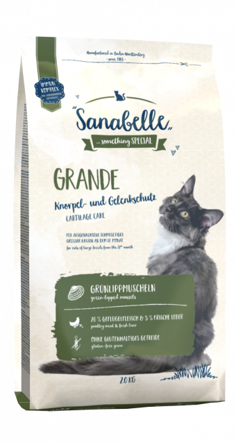 Сухой корм для кошек Sanabelle Grande NEW, 2 кг