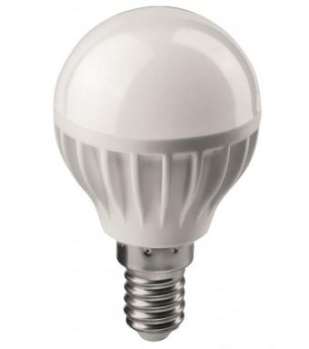 Лампа Онлайт OLL-G45-8-230-4K-E14 (600 Лм, шарик)
