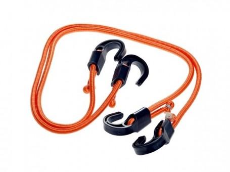 Стяжки-резинки AirLine 2 шт (2x120 см, пластик. крючки)