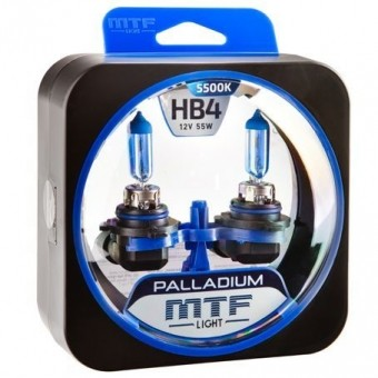 Лампы MTF Palladium HB4 (12v, 55w, 2шт.)