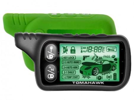 Чехол силиконовый Tomahawk TZ-9020/9030 (зеленый)