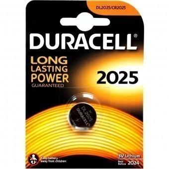 Батарейка CR2025 Duracell (блистер, 1 шт)