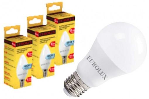 Светодиодные лампы E27 Eurolux