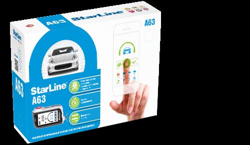Автосигнализация StarLine A63 (об/с)