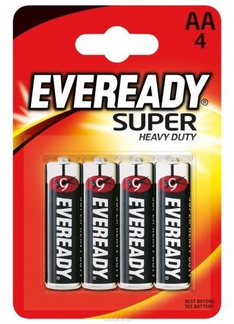 Батарейка АА Eveready Super (LR06, 4 шт.)