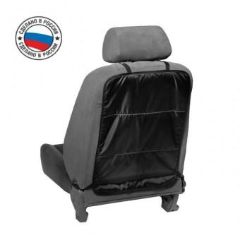 Защитная накидка на спинку сиденья Torso (трехслойная, черная, 55х40 см)