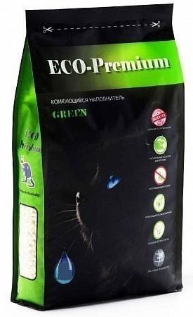 Наполнитель кошачьего туалета ECO Premium GREEN (древ., 7,6 кг, 20 л, сосна)