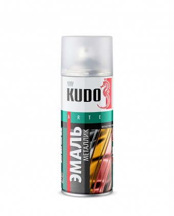 "Краска-спрей ""KUDO"" KU-1033 стандарт Хром зеркальный (520мл) аэрозоль"