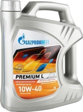 Масло моторное Gazpromneft Premium L 10W-40 (4 л)