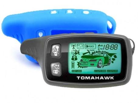 Чехол силиконовый Tomahawk TW-9010/9020/9030 (синий)