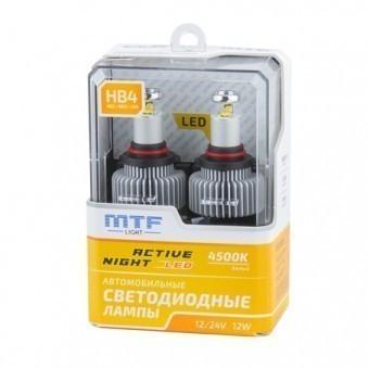 Светодиодные лампы MTF Active Night HB4 (4500K)