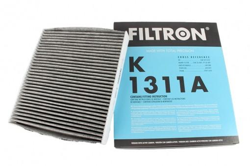 Фильтр салонный Filtron K 1311A (CUK 26 009) угольный