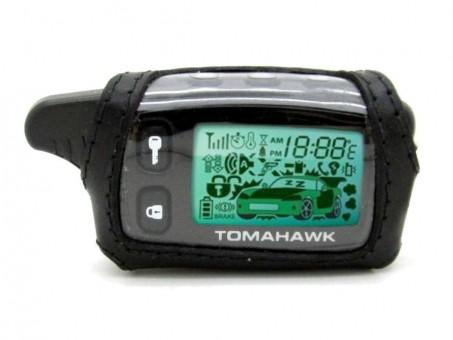 Чехол кожаный Tomahawk TW-9010/9020/9030 (черный)