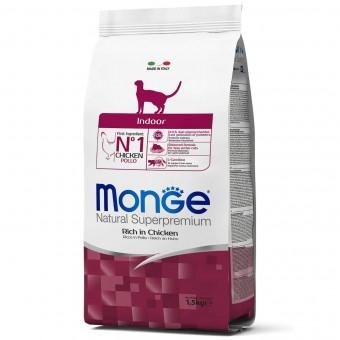 Сухой корм для кошек Monge Daily Line - Indoor (1,5 кг)