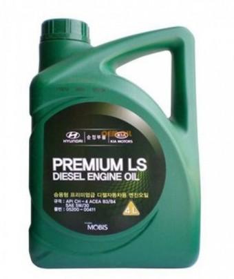 Масло моторное Hyundai Mobis Premium LS Diesel 5W30 (6 л)