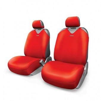 Чехлы-майки Автопрофи R-1 Sport Plus (2 шт, перед) - красные