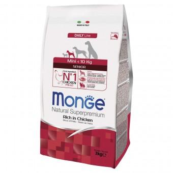 Сухой корм для собак Monge Daily Line - Mini Senior (3 кг)