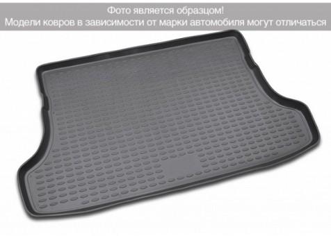 Коврик багажника Lada Xray 2015-> без фальш-пола борт. чер НЛ ELEMENT5237B11