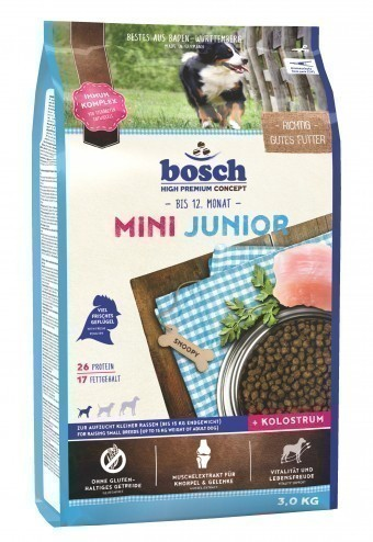 Сухой корм для собак Bosch Mini Junior, 3 кг