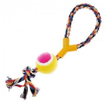 Игрушка Пижон Канат-кольцо с мячом (размер XL, 35 см)