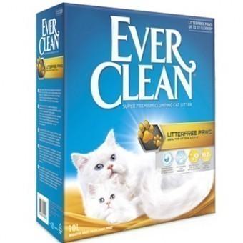 Наполнитель кошачьего туалета Ever Clean Litterfree Paws (глиняный, 10,0 кг, 10 л, свежесть)