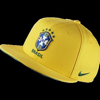 Бейсболка СБ Бразилия  2015-16 Nike желтая, арт.15587