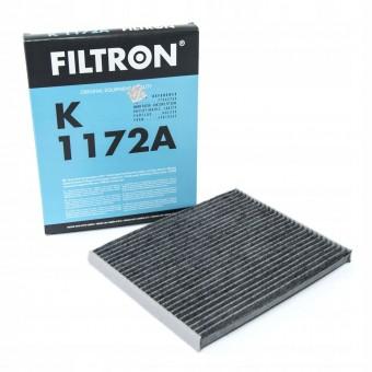 Фильтр салонный Filtron K 1172A (CUK 2243) угольный