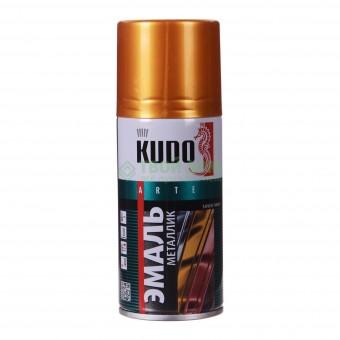 "Краска-спрей ""KUDO"" KU-1028 стандарт Золото (520мл) аэрозоль"