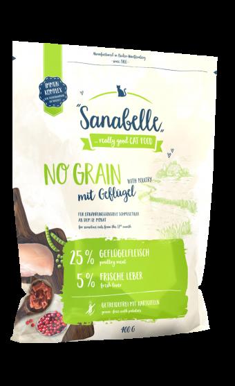 Сухой корм для кошек Sanabelle No Grain NEW, 0,4 кг