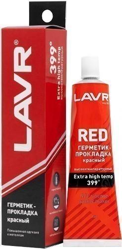 Lavr Ln1737 Герметик-прокладка высокотемпературный (красный, 85 г)