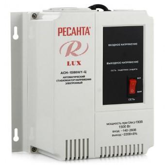 Стабилизатор напряжения Ресанта Lux АСН-1500Н/1-Ц