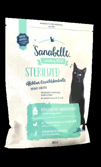 Сухой корм для кошек Sanabelle Sterilized NEW, 0,4 кг